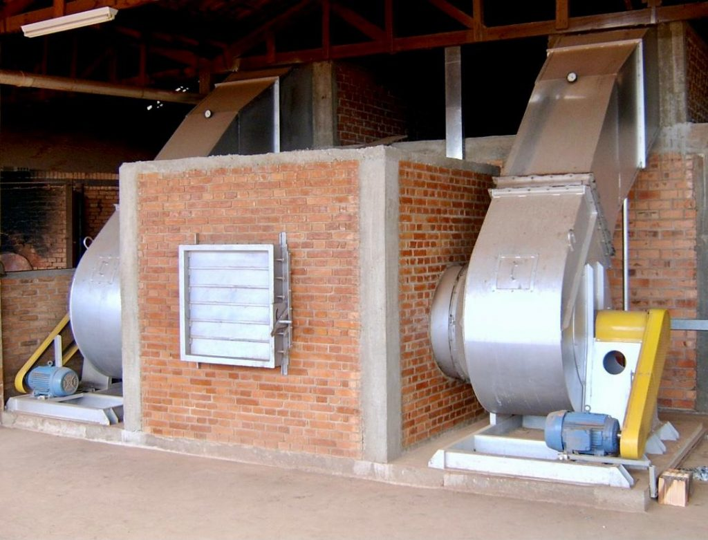 Ventilador centrifugo